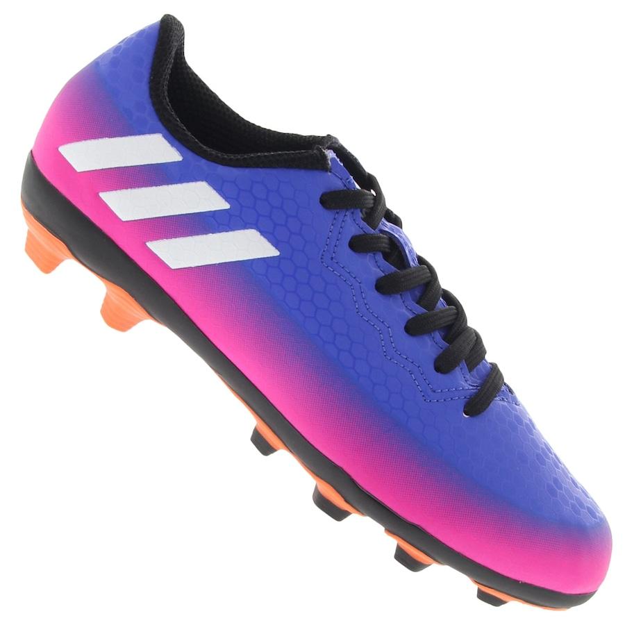 247103a063cb8 Chuteira de Campo adidas Messi 16.4 FXG - Infantil - Flamengo Loja
