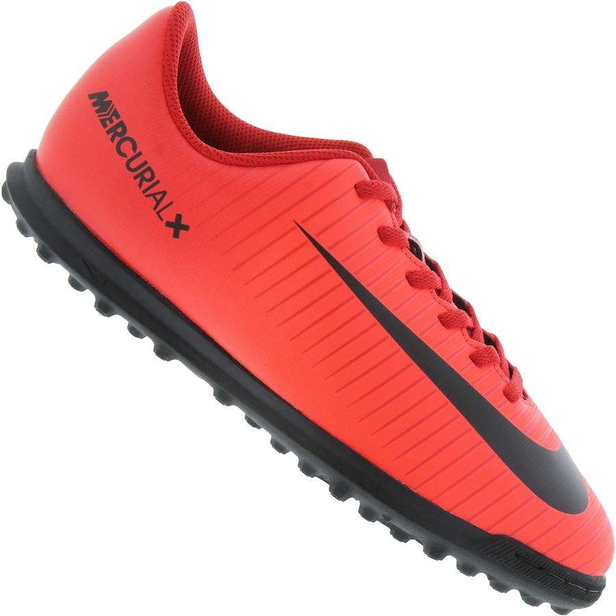 Chuteira Society Nike Mercurial Vortex III TF - Infantil 575f519111f41
