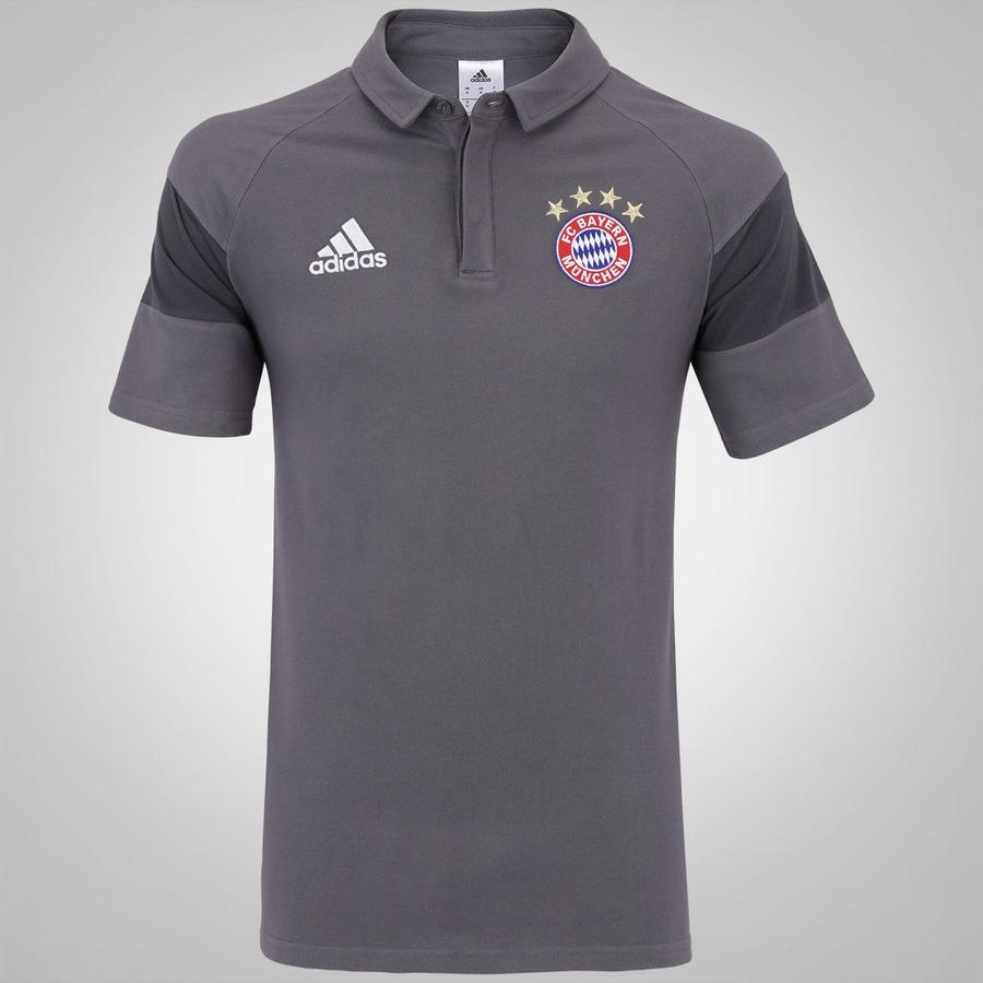 Camisa Polo Bayern de Munique Viagem adidas - Masculina 6142e3aca9678