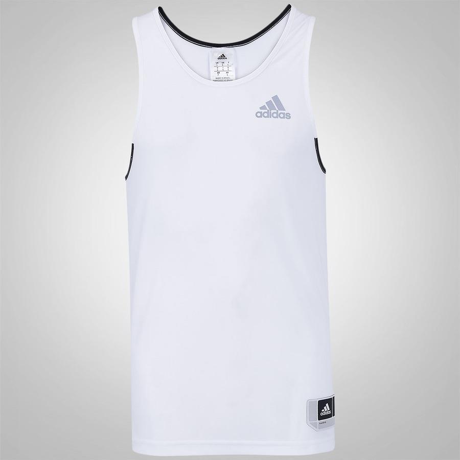 Camiseta Regata adidas Commander Listras Horiz. - Masculina f1659c61669