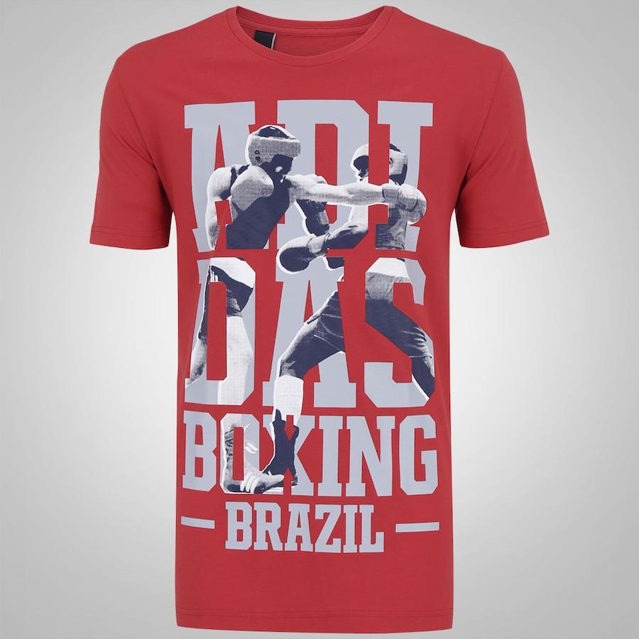 81a8a3ec8a Camiseta adidas Rio Boxing - Masculina