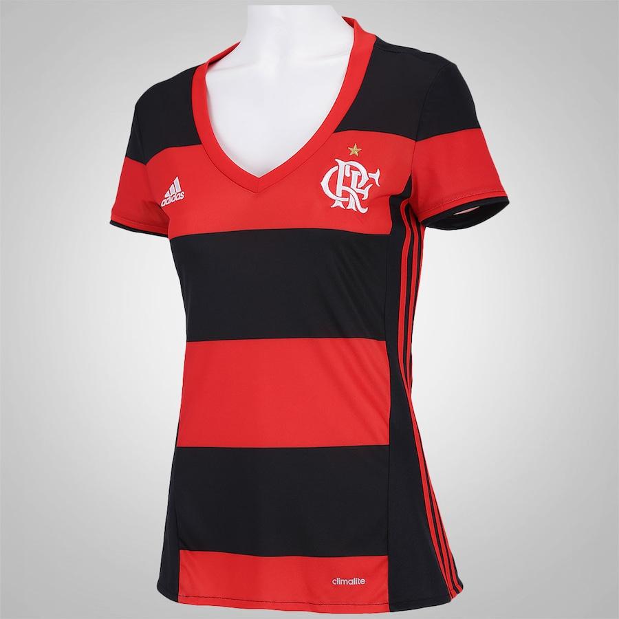 637918425 ... Camisa do Flamengo I 2016 adidas - Feminina ...