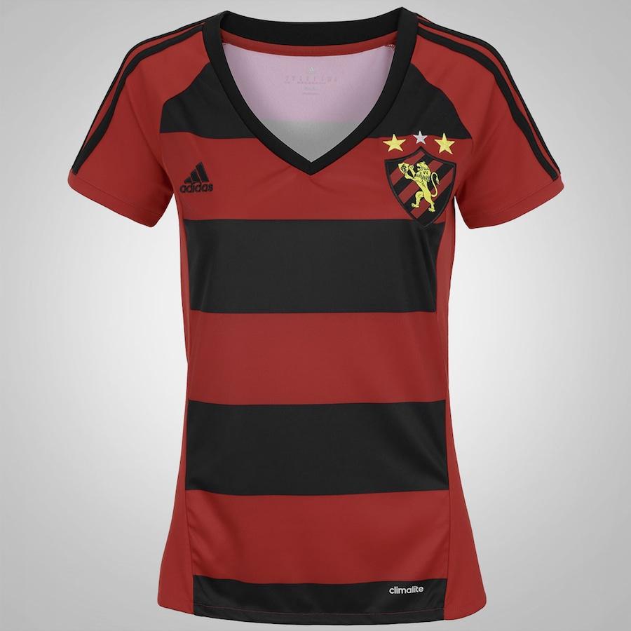 Camisa do Sport Recife I 2016 adidas - Feminina 077365c98ca40