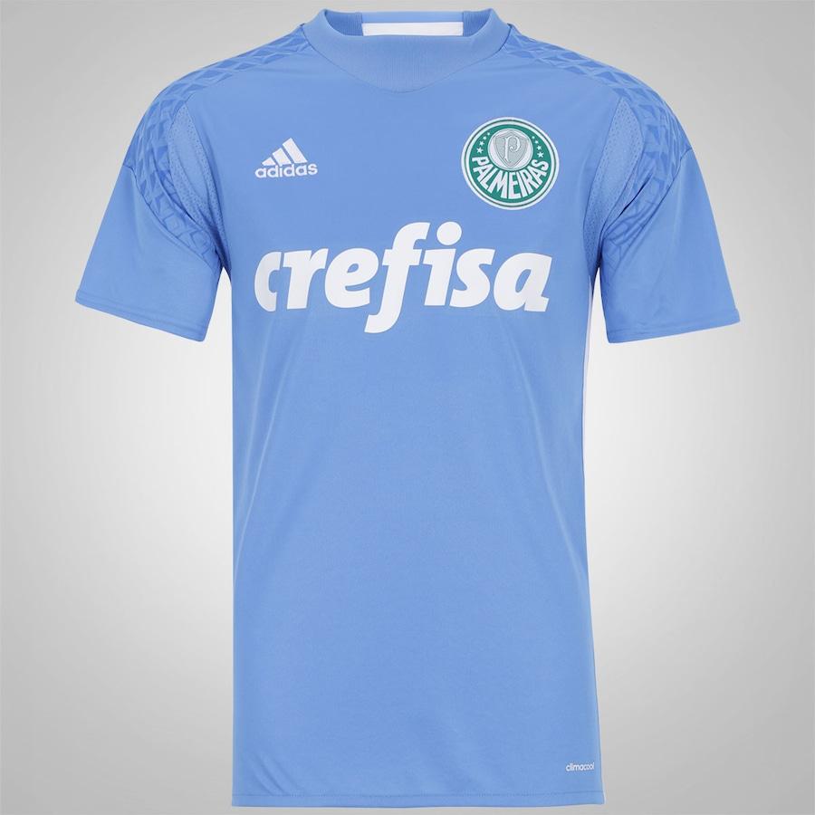 Camisa de Goleiro do Palmeiras I 2016 adidas - Masculina 4c91050046e46
