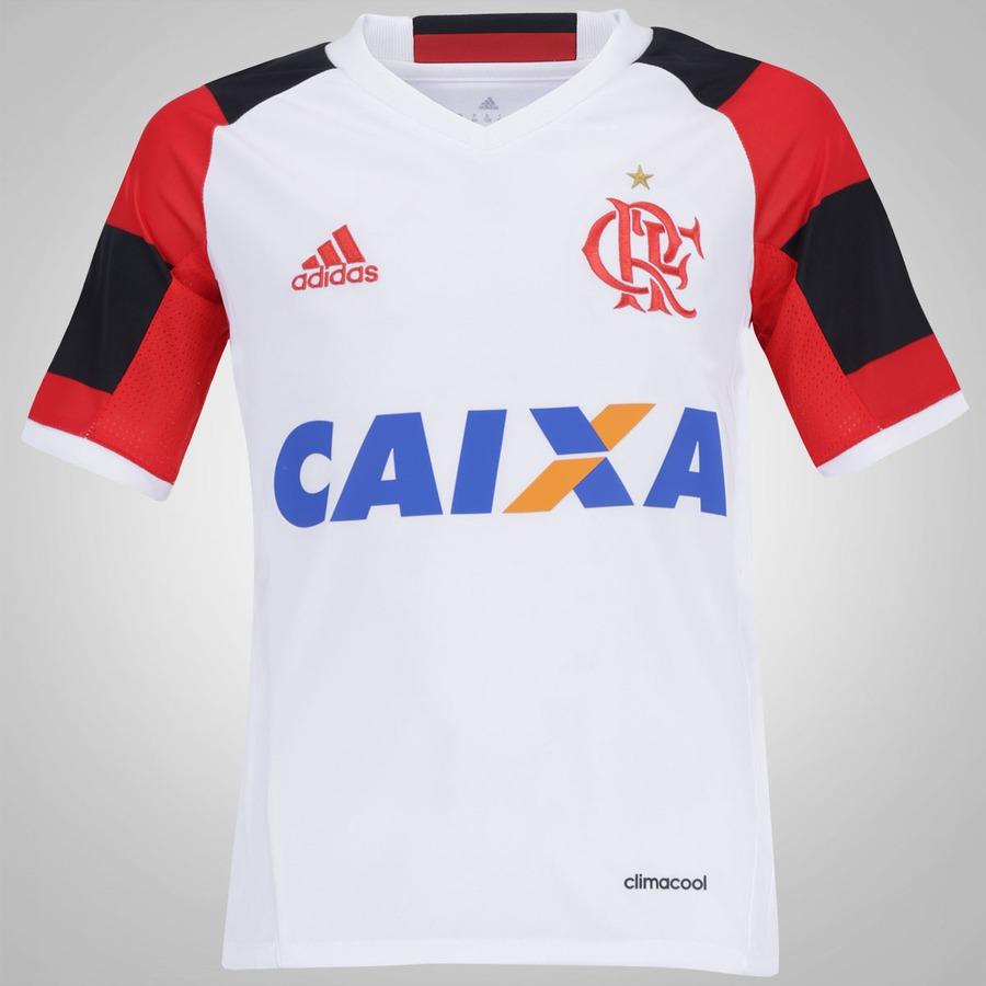 Camisa do Flamengo II 2016 adidas - Infantil d9fd1650c1f98