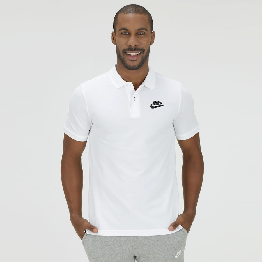 2032c704ee Camisa Polo Piquet Nike NSW Matchup - Masculina