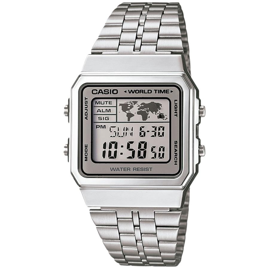 bb930f7bf79f6 Relógio Digital Casio Vintage A500WA - Masculino