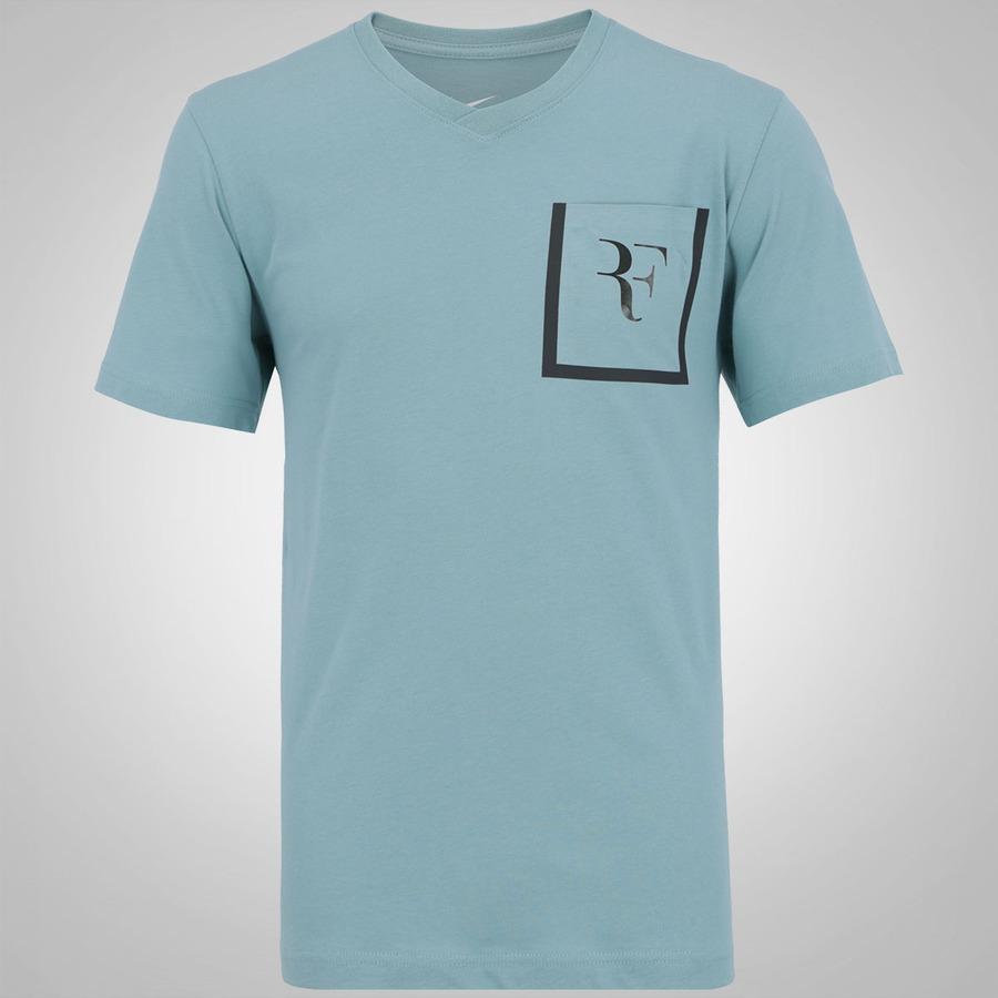 Camiseta Nike Roger Federer Stealth Pocket - Masculina 43007eaa3ecd5