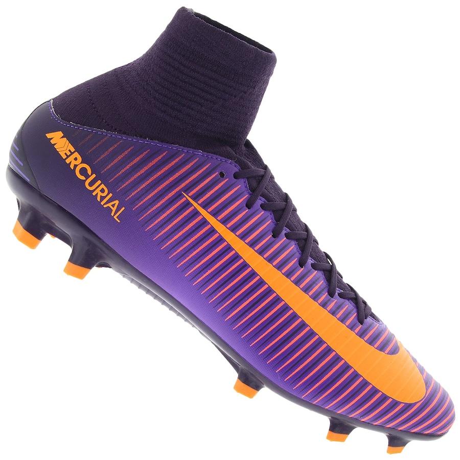 Chuteira de Campo Nike Mercurial Veloce III - Adulto 3785f44bd8f58