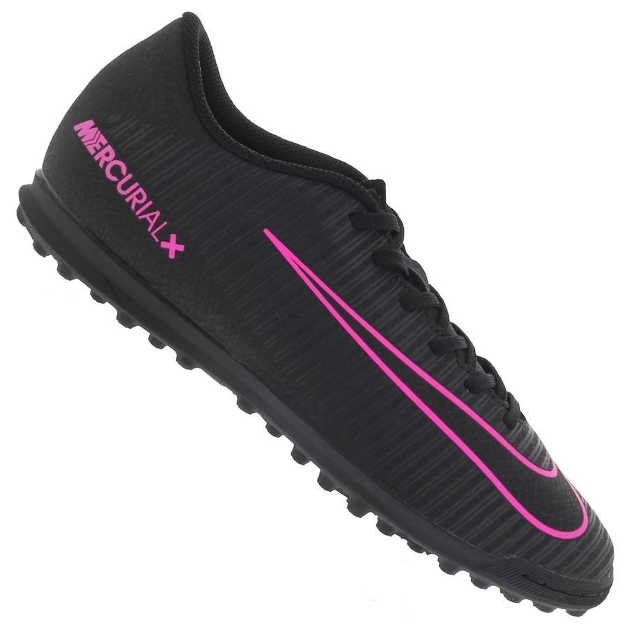 9a5cc1de1a2cc Chuteira Society Nike Mercurial Vortex III TF - Adulto