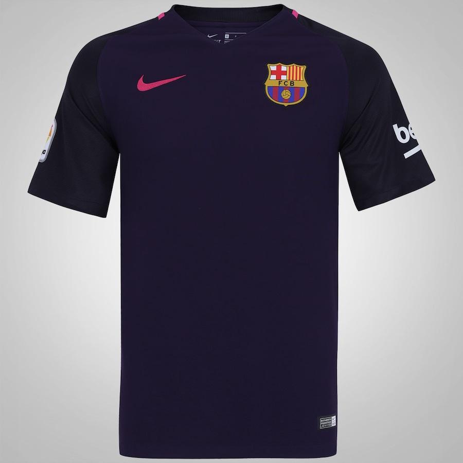 Camisa Barcelona II 16 17 Nike - Masculina 4db3b95843081