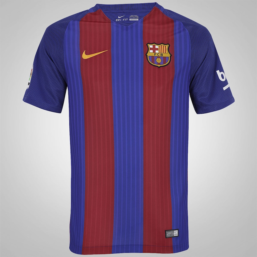 d673c686de Camisa Barcelona I 16 17 Nike - Masculina