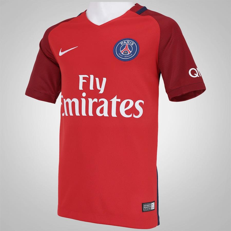 Camisa PSG II 16 17 Nike - Infantil 7477e8e5cd42d
