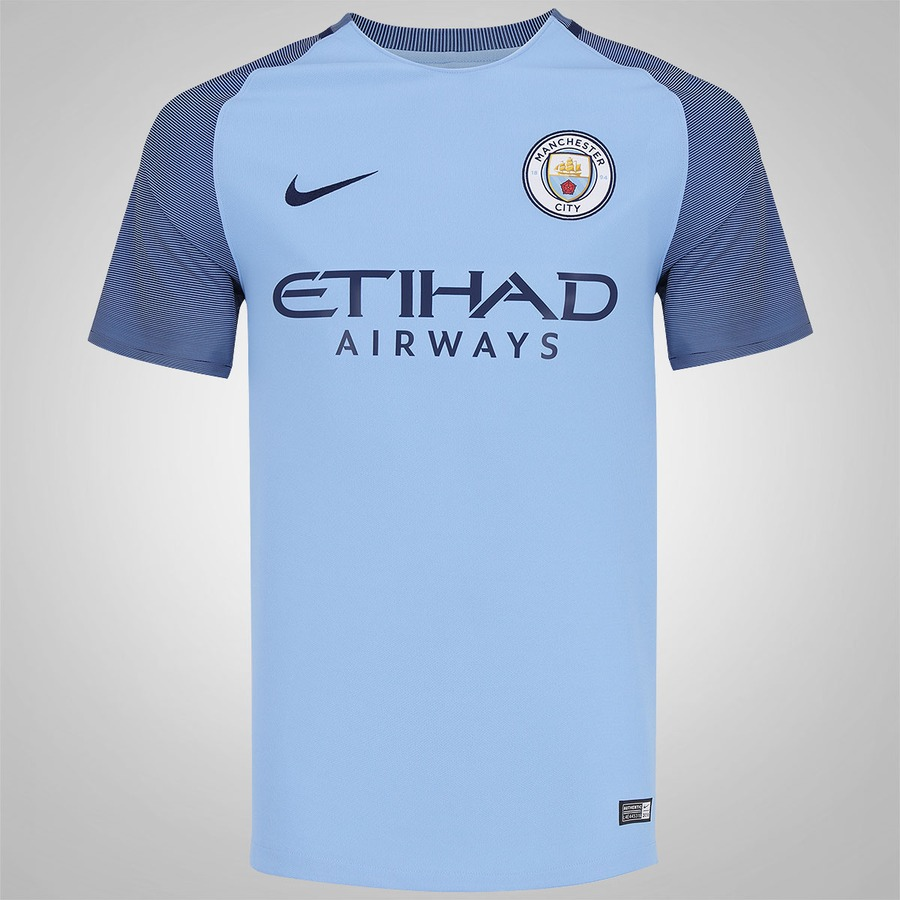 595e259152 Camisa Manchester City I 16/17 Nike - Masculina
