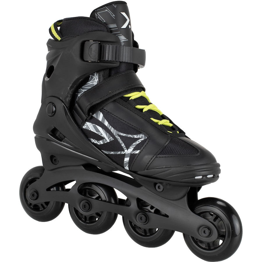 87dfc8e0c35 Patins Oxer Byte - In Line - Fitness - ABEC 7 - Adulto