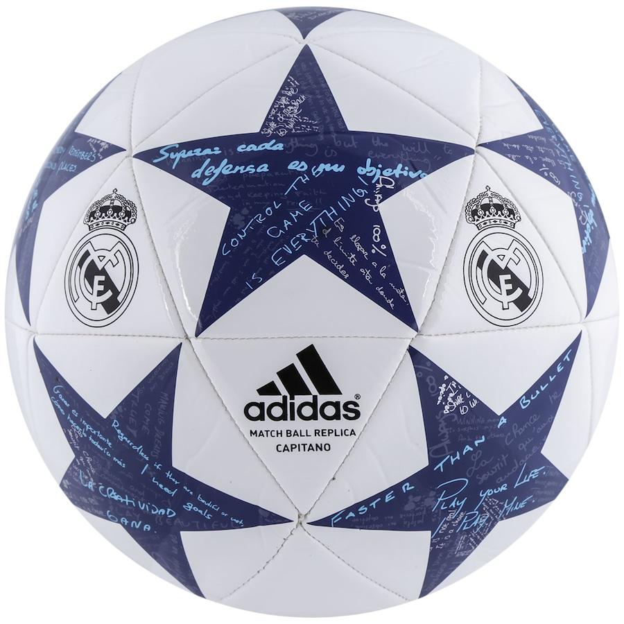 Bola de Futebol de Campo adidas Finale 16 Real Madrid 7a752dc8f36e7