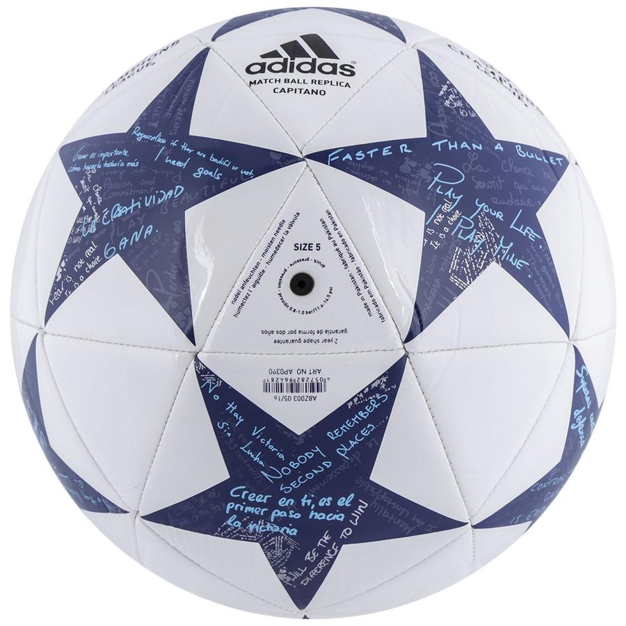 ... Bola de Futebol de Campo adidas Finale 16 Real Madrid Capitano b74086896787c