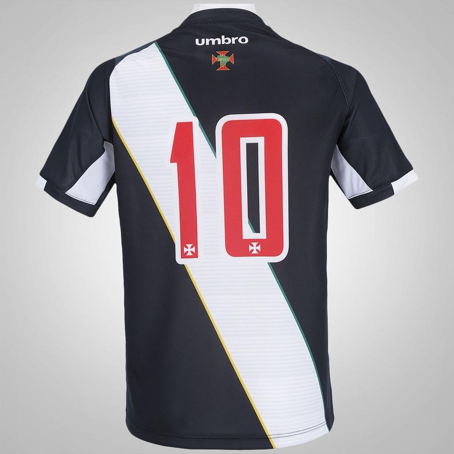 Camisa do Vasco I 2016 nº 10 Umbro - Infantil f502f54c77509