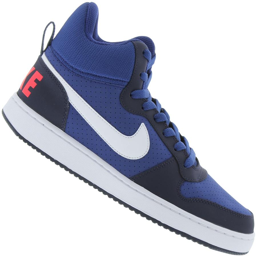 6bd4081508d Tênis Cano Alto Nike Court Borough Mid - Masculino