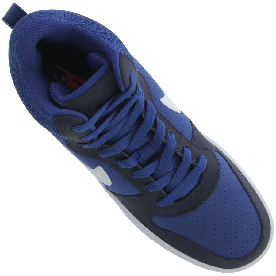 Tênis Cano Alto Nike Court Borough Mid - Masculino 4821a1a34bc14