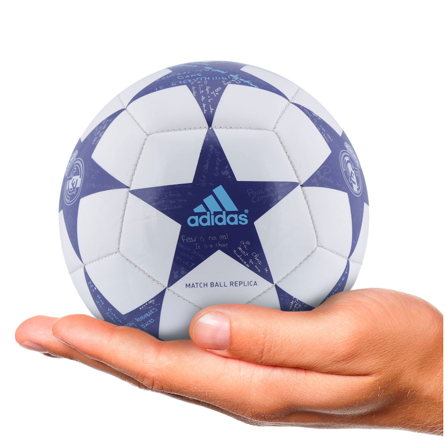 Minibola de Futebol de Campo adidas Finale 16 Real Madrid a5da3721382b9