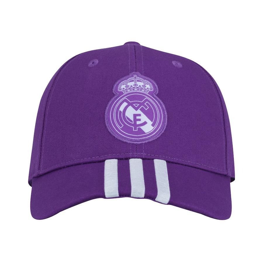 Boné adidas 3S Real Madrid - Strapback - Adulto f05101b19e0