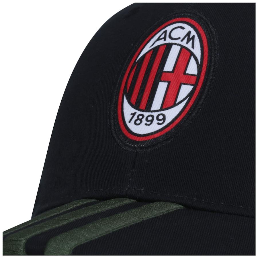 02bbffed6ec8b Boné Aba Curva adidas 3S Milan - Strapback - Adulto