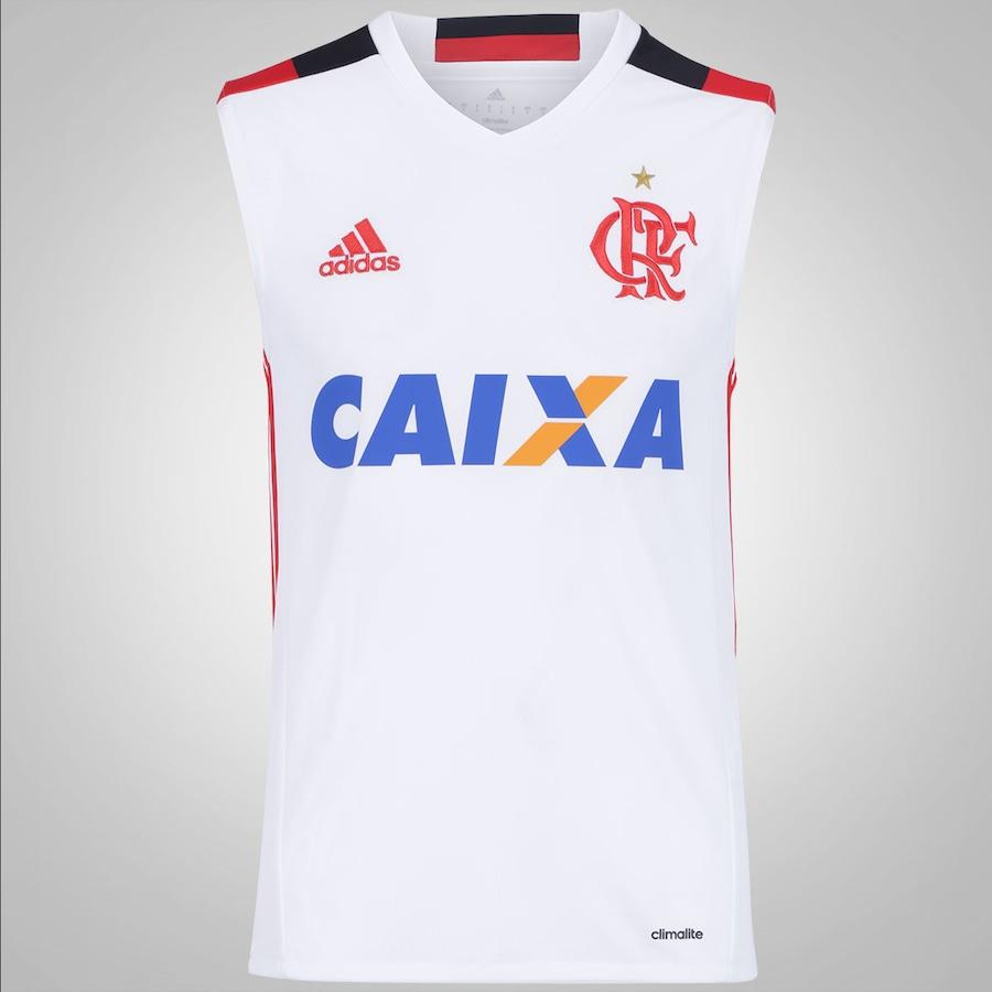 6a158731ddc5b Camiseta Regata do Flamengo II 2016 adidas - Masculina