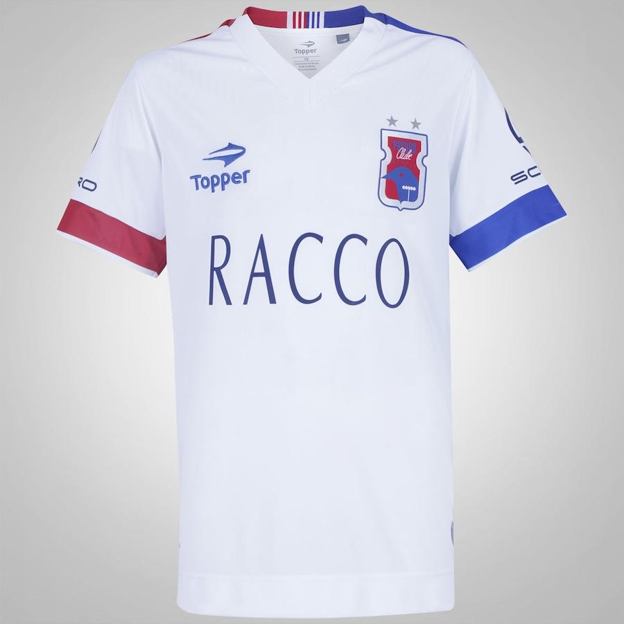 Camisa do Paraná Clube II 2016 nº 10 Topper - Infantil 415bee3598fc7