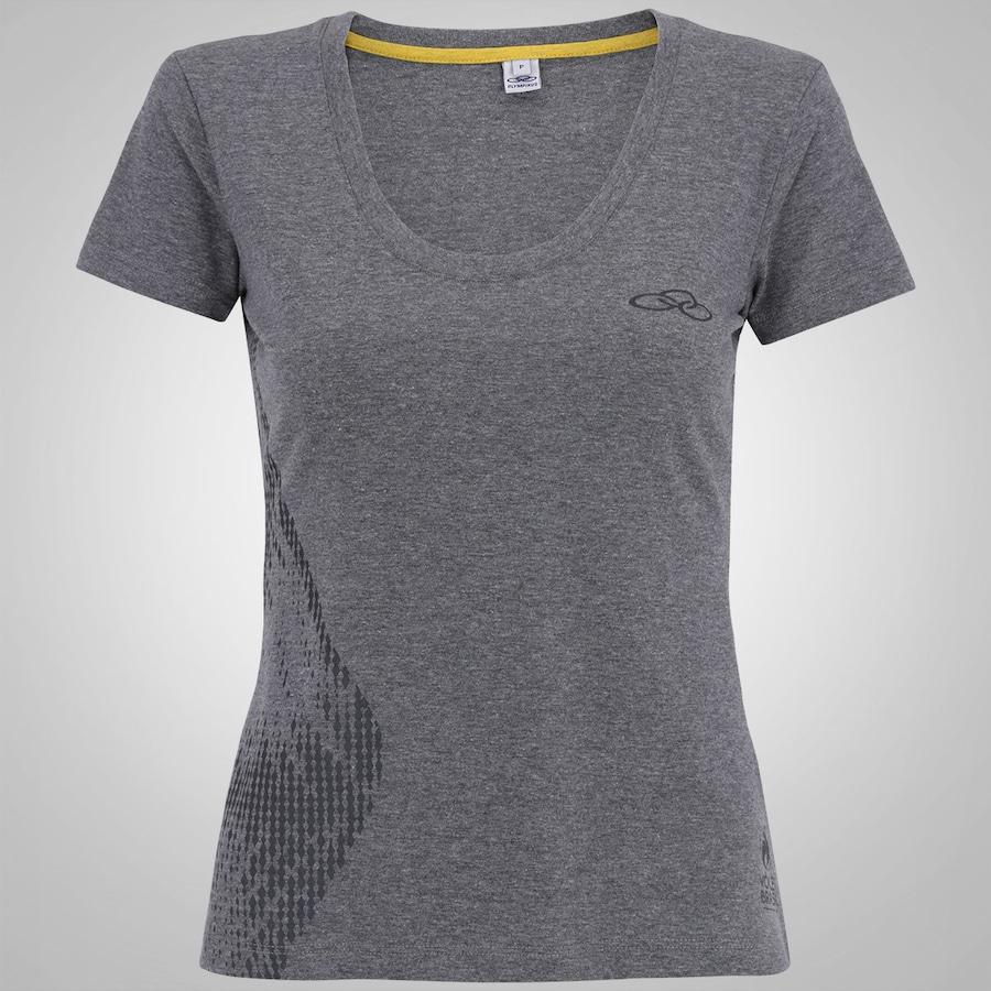d743dd03258 Camisa do Brasil Olympikus Vôlei Torcida 16 - Feminina