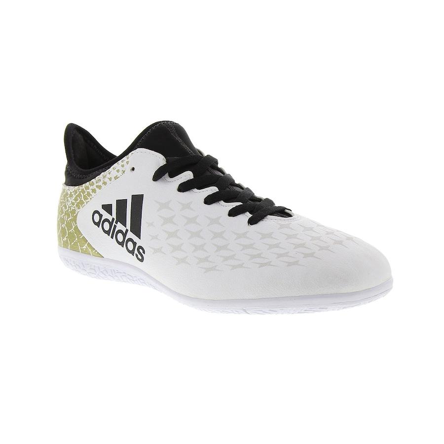Chuteira Futsal adidas X 16.3 IN - Infantil 4397b65a94dd9