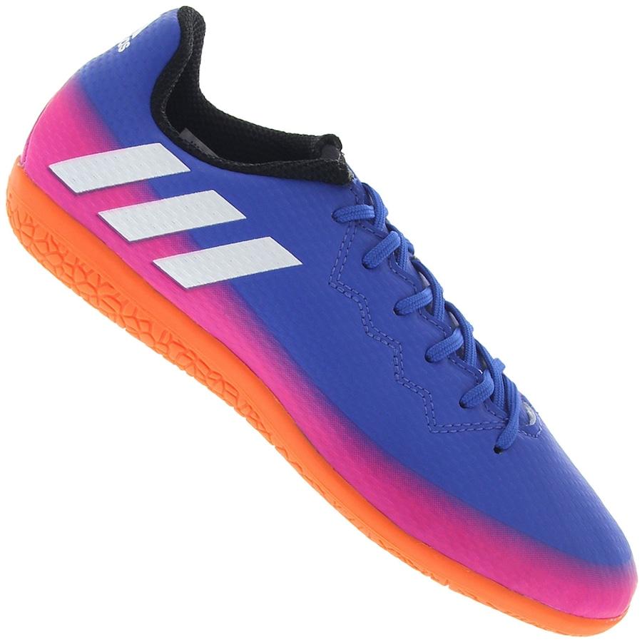 Chuteira Futsal adidas Messi 16.3 IN - Infantil 326c8c368ea27