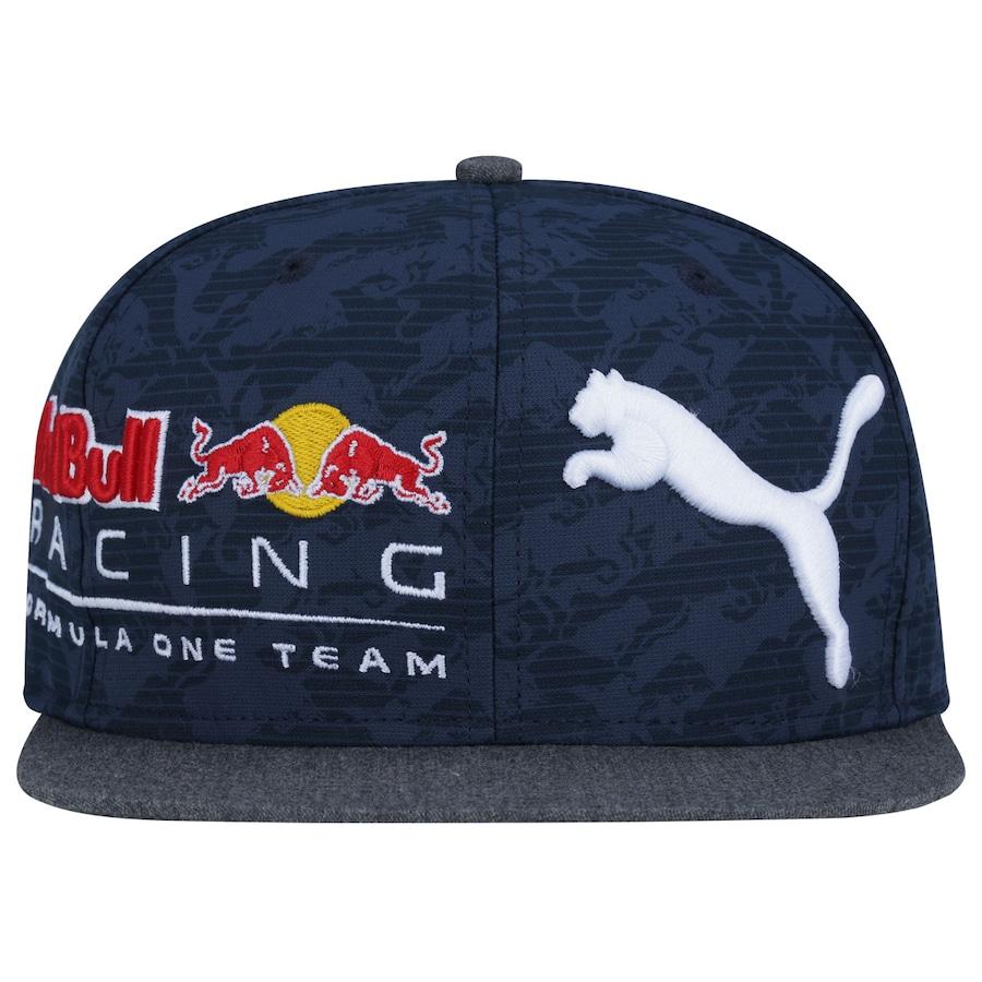 Boné Aba Reta Puma Red Bull Racing New Block - Snapback bbd42098b94