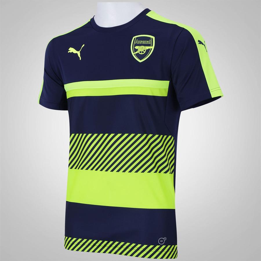 Camisa de Treino Arsenal 16 17 Puma Listras - Masculina 8d6f1b8f7cd12