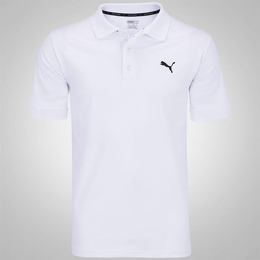 d0143f67cbcd1 Camisa Polo Piquet Puma ESS - Masculina