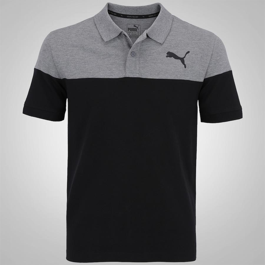 b2ffa5d3b Camisa Polo Puma Alpha Block - Masculina
