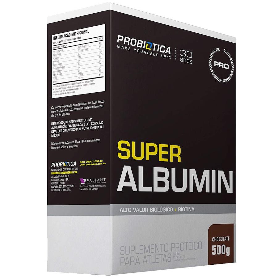 Albumina Probiótica Super Albumin - Chocolate - 500g
