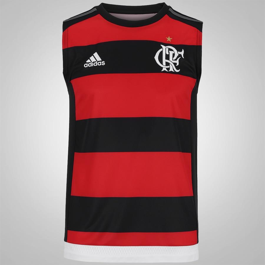 Camisa Regata do Flamengo I 2016 adidas - Masculina a2453848579fe