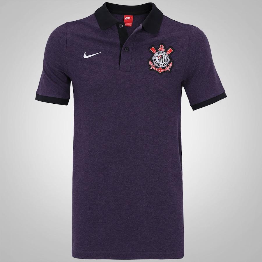 Camisa Polo do Corinthians 2016 Nike - Masculina a8e96868fcb04