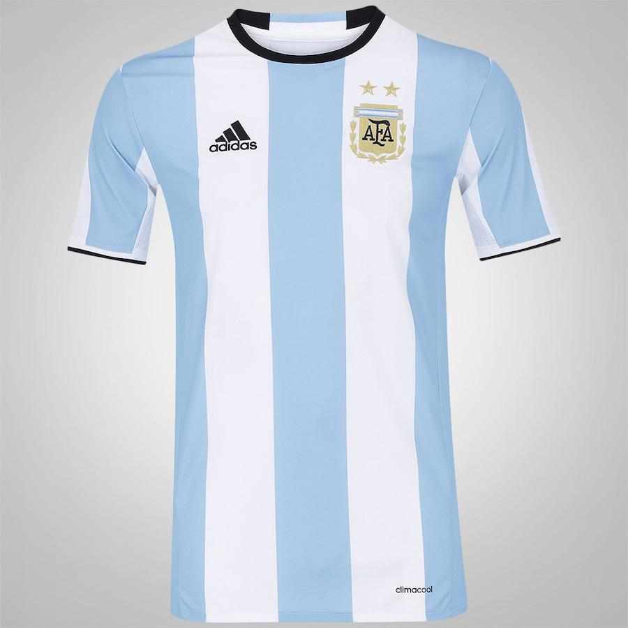 Camisa Argentina I 2016 adidas - Masculina 3b0d6f4d154bb