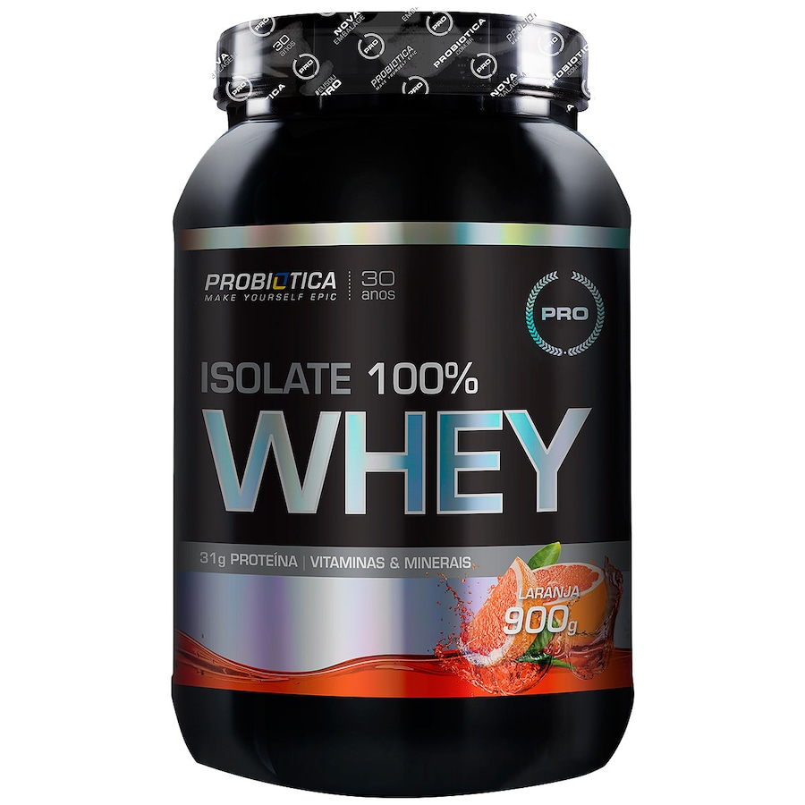 bb50adcb4 Whey Protein Isolado Probiótica Isolate 100% Whey - Laranja