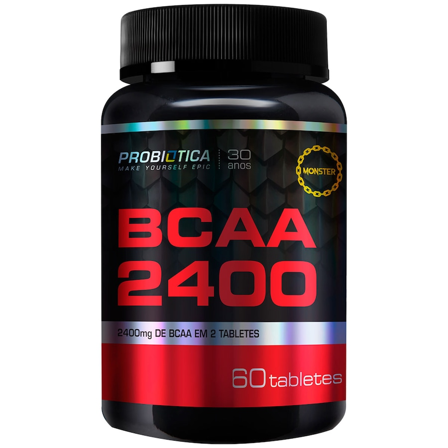 BCAA Probiótica 2400 - 60 Tabletes