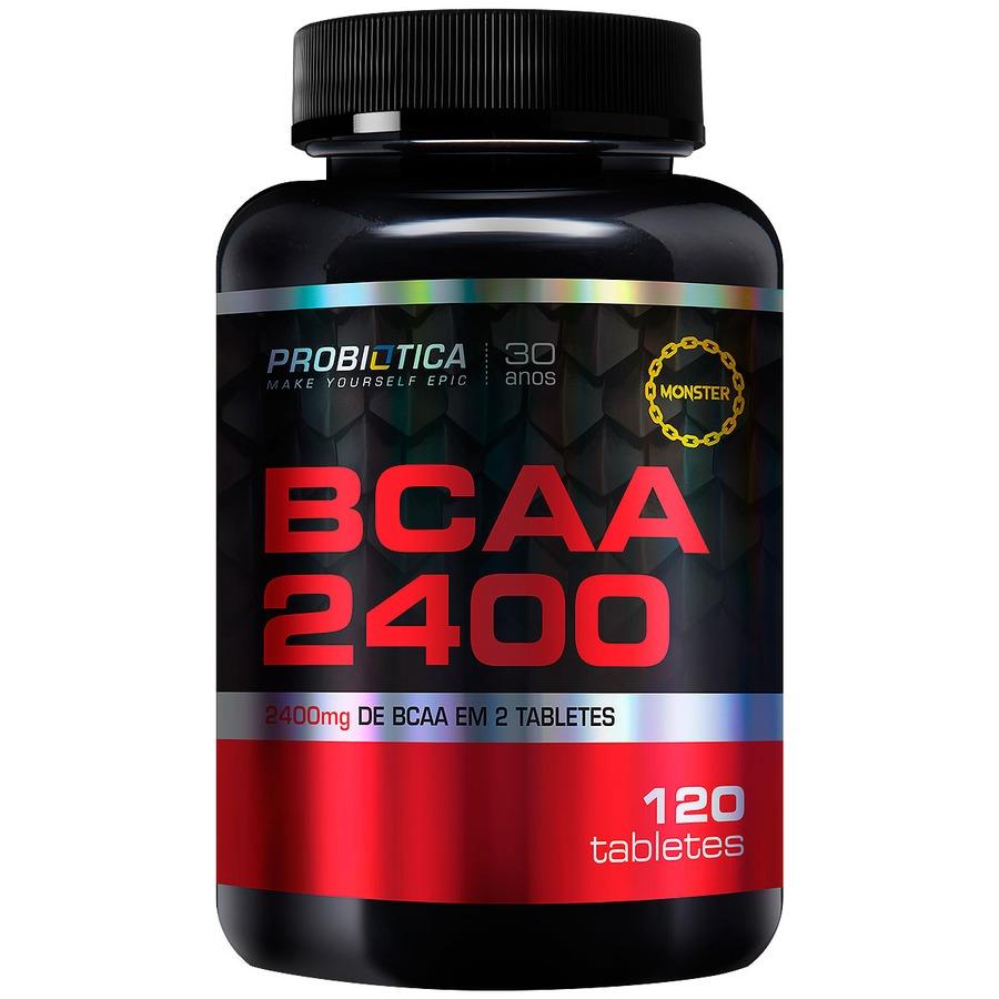 BCAA Probiótica 2400 - 120 Tabletes