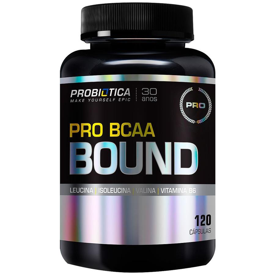 BCAA Probiótica Pro BCAA Bound - 120 Cápsulas