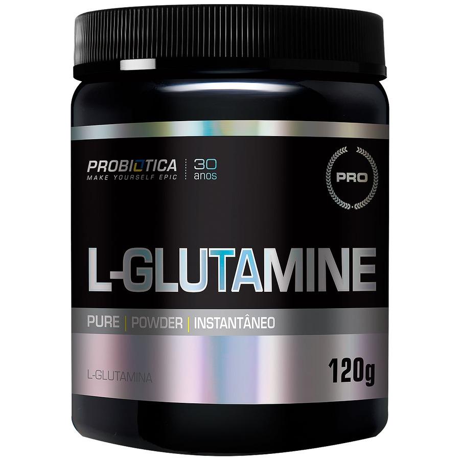Glutamina Probiótica L-Glutamine - 120g