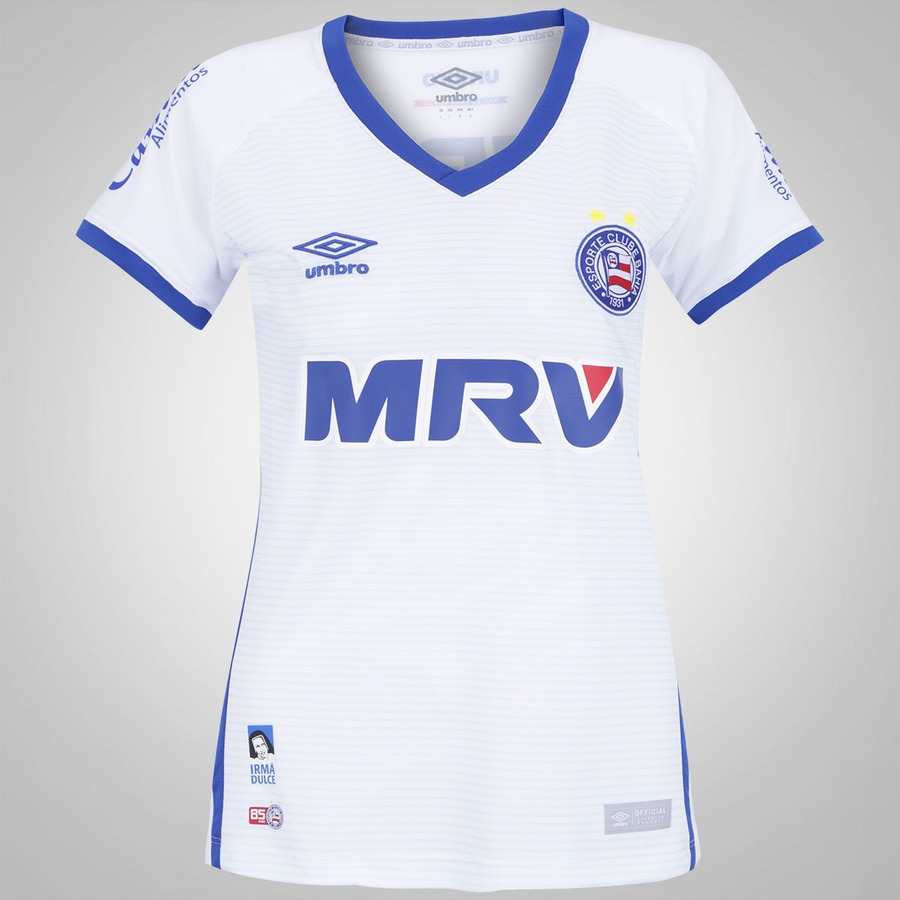 ba2f6b8ea3 Camisa do Bahia I 2016 Umbro - Feminina