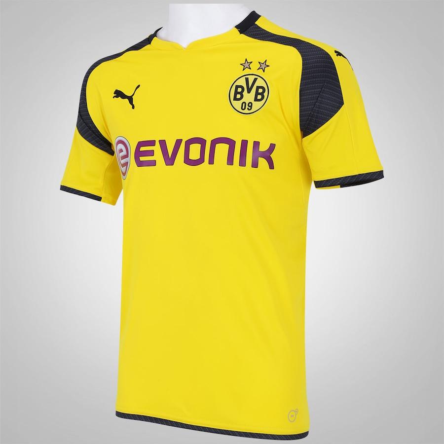 Camisa Borussia Dortmund III 16 17 Puma - Masculina 331e5e0e57f57