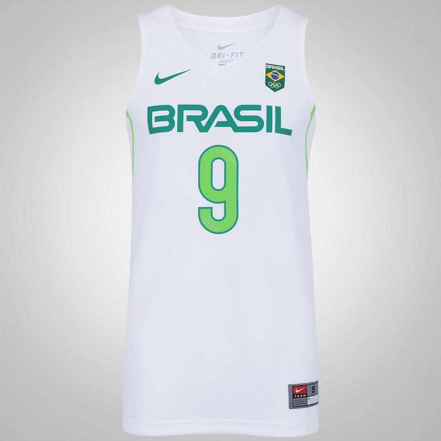Camisa Regata do Brasil Nike Basquete Rio de Janeiro - Marc abb854679cd81