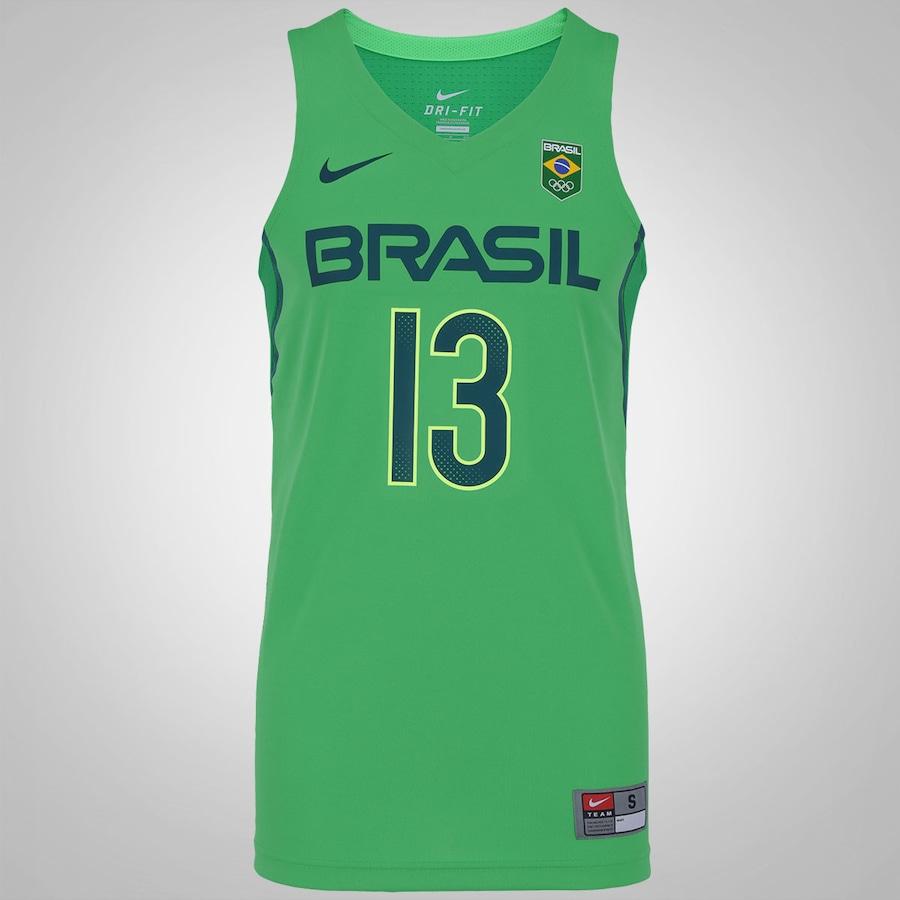Camisa Regata do Brasil Nike Basquete Rio de Janeiro - Nene e44edec9ea74d