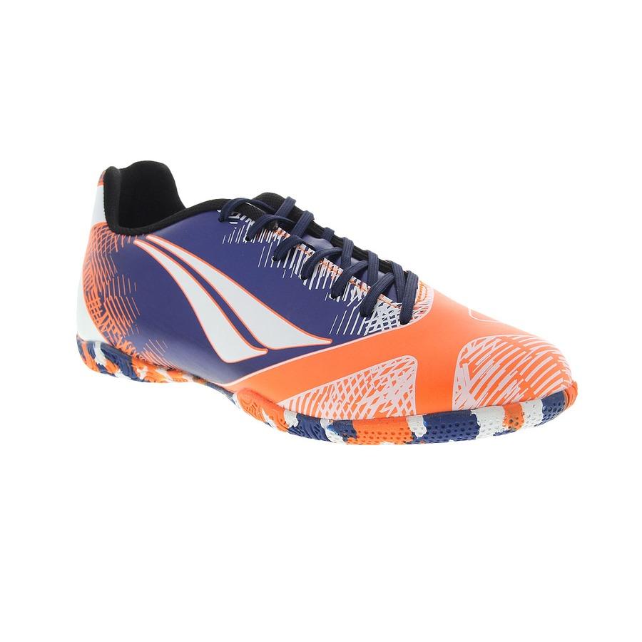 Chuteira Futsal Penalty Victoria RX VI Estampada - Adulto 8d8b1ed442072